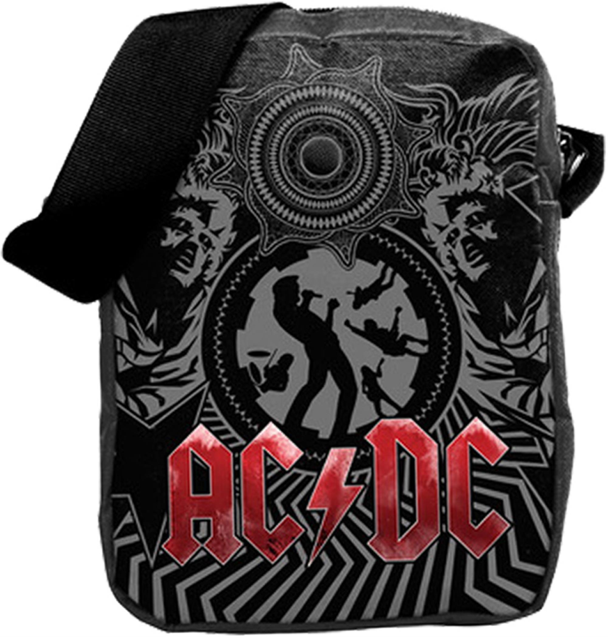 AC/DC Black Ice Crossbody Bag