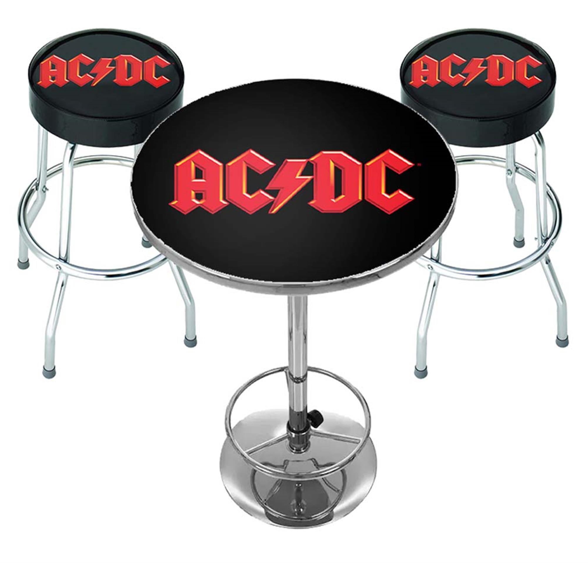 AC/DC Logo Bar Set
