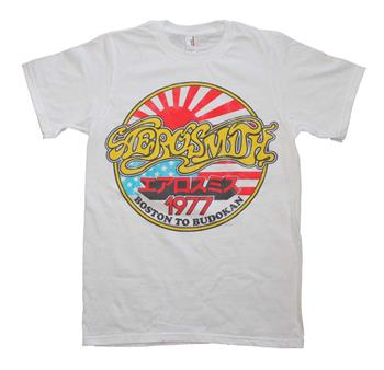 Buy Aerosmith Boston to Budokan Vintage Inspired Slim Fit T-Shirt by AEROSMITH