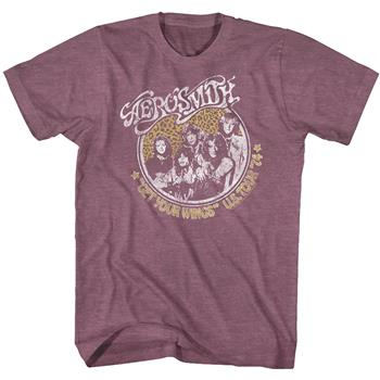 Buy Aerosmith Get Your Wings Vintage T-Shirt by AEROSMITH
