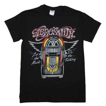 Buy Aerosmith Juke Box T-Shirt by AEROSMITH