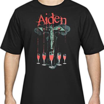 Buy Cross Cup With Blood T-Shirt by Aiden