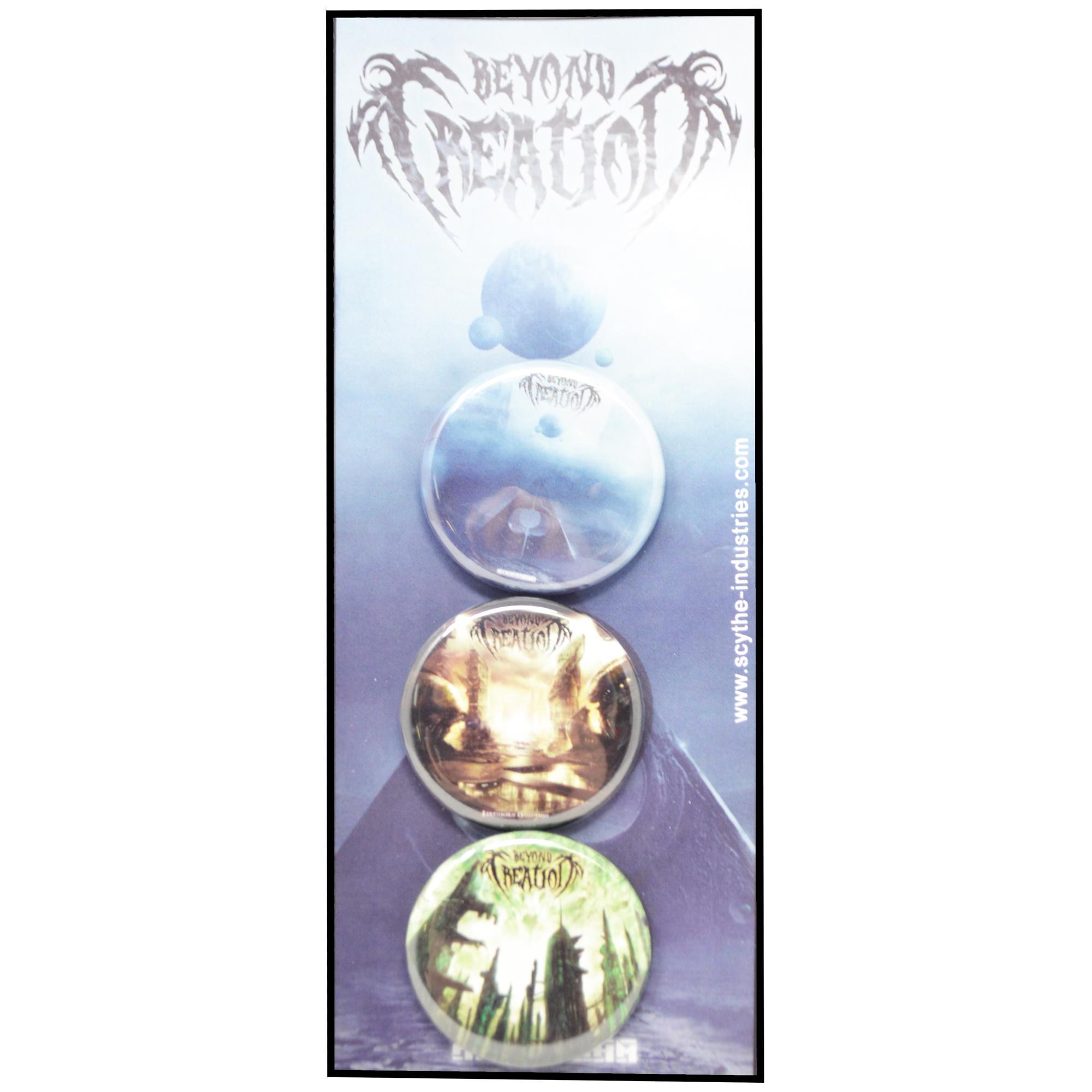 Albums Button Pin Set