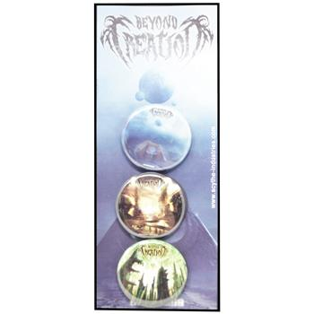 Beyond Creation Albums Button Pin Set