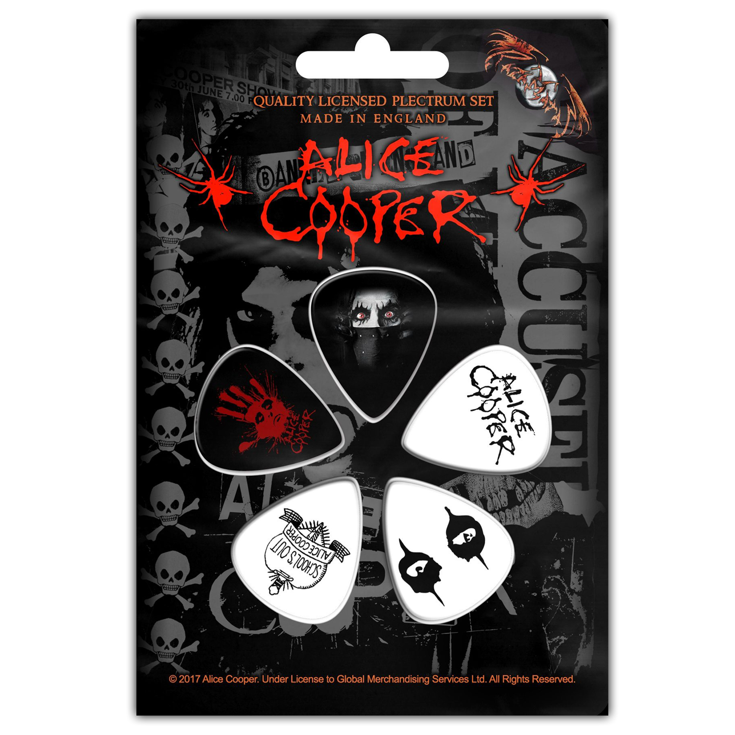 Eyes Guitar Pick Set