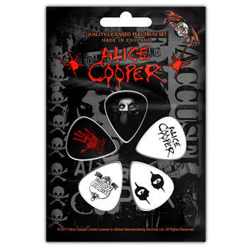 Alice Cooper Eyes Guitar Pick Set