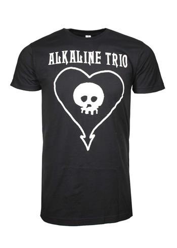 Alkaline Trio Alkaline Trio Classic Heartskull T-Shirt