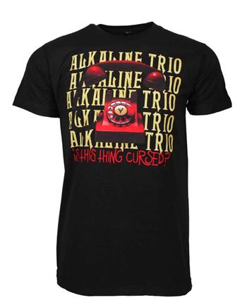 Alkaline Trio Alkaline Trio Is This Thing Cursed Repeater T-Shirt
