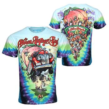 Buy Allman Brothers Allman Brothers Band Tie Dye T-Shirt by Allman Brothers