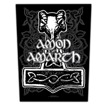 Amon Amarth Hammer Backpatch