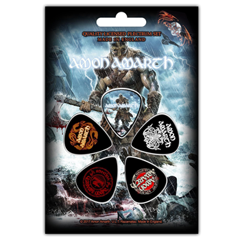 Buy Jomsviking Guitar Pick Set by Amon Amarth