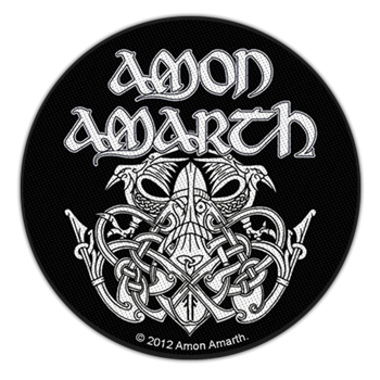 Amon Amarth Odin Patch