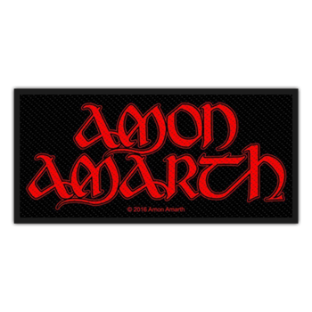 Buy Red Logo Patch by Amon Amarth
