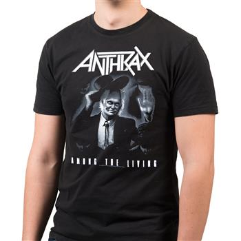 Buy Among The Living (Import) T-Shirt by Anthrax