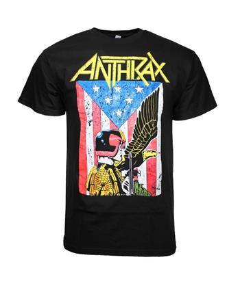 Anthrax Anthrax Dredd Eagle T-Shirt
