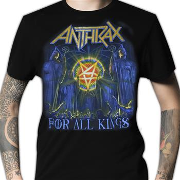 Buy For All Kings Album Cover (Import) T-Shirt by Anthrax