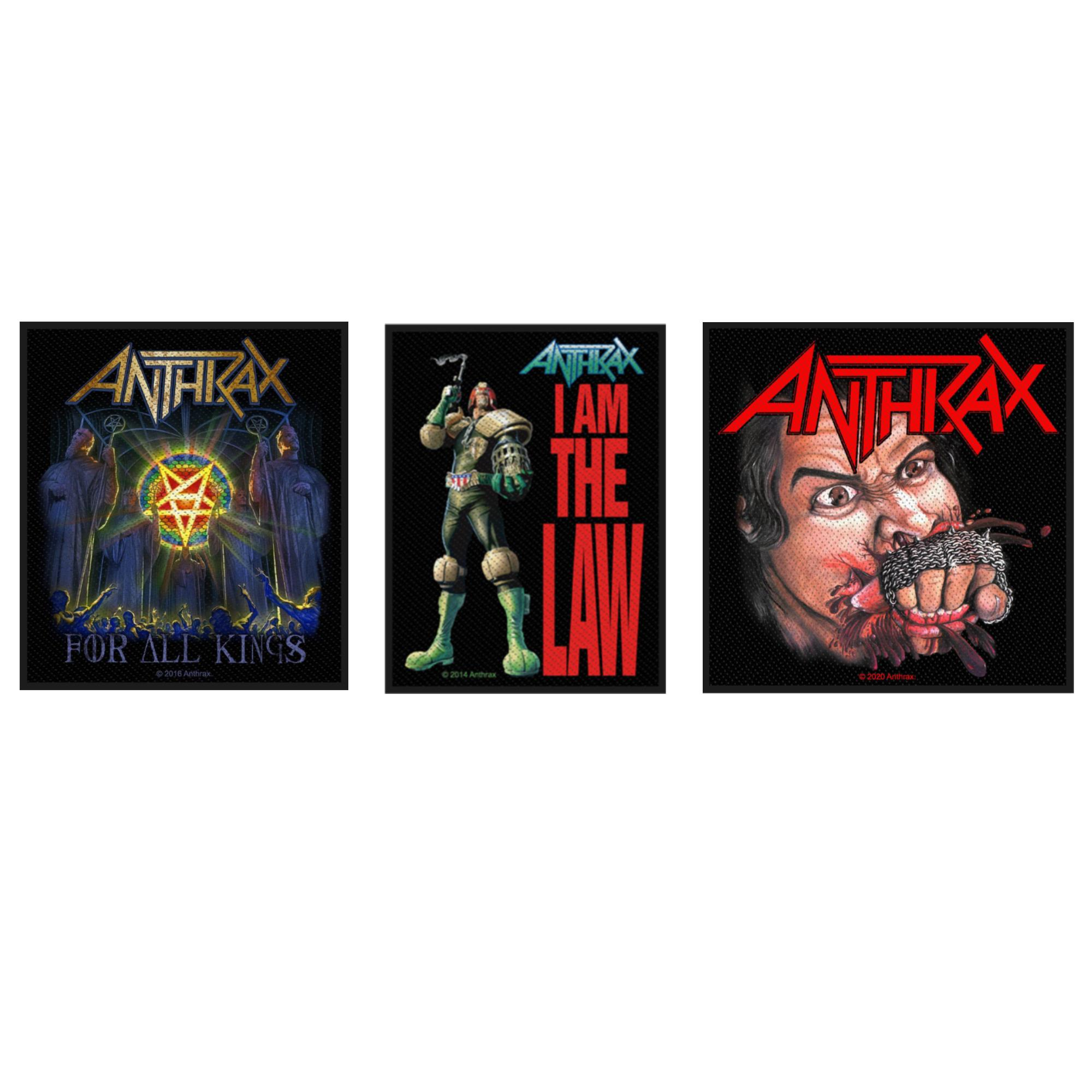 Anthrax Patch Pack