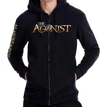 The Agonist As Above So Below Pullover Hoodie