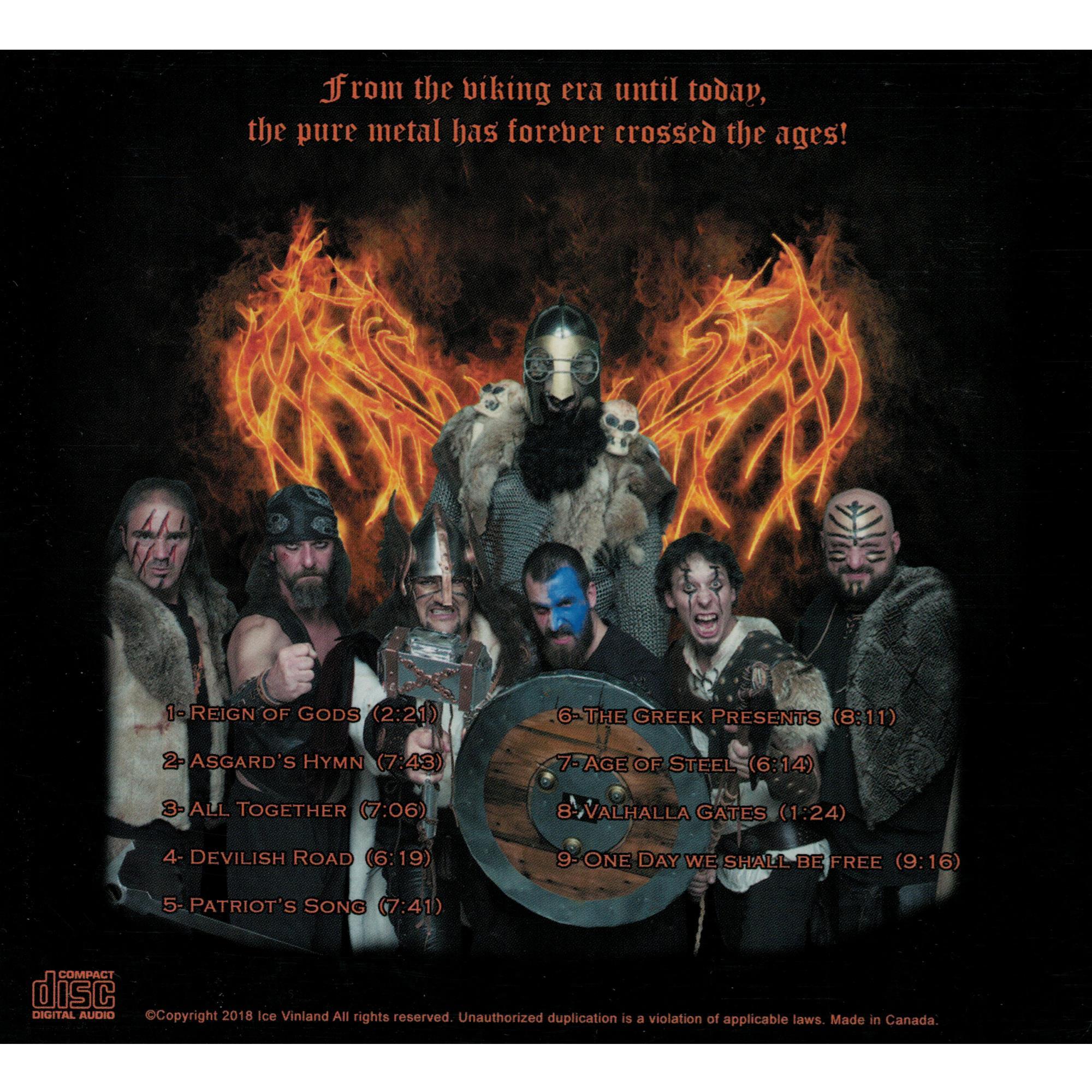 Asgard Steel CD
