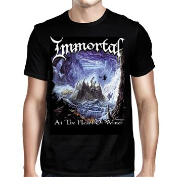 Buy At The Heart Of Winter (Import) T-Shirt by Immortal