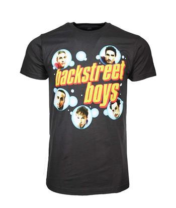 Backstreet Boys Backstreet Boys Bubble Charcoal T-Shirt