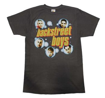 Buy Backstreet Boys Bubble Charcoal T-Shirt by Backstreet Boys