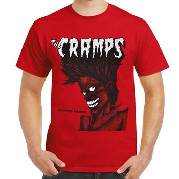 Cramps (the) Bad Music for Bad People T-shirt