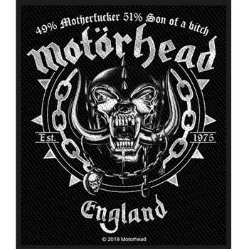 Motorhead Ball & Chain Patch