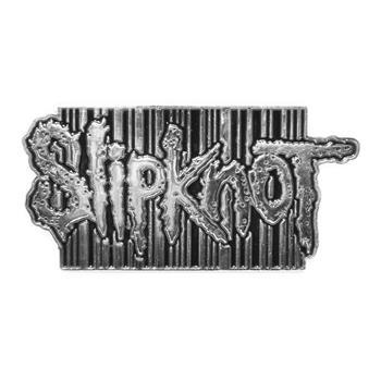 Slipknot Bar Code Logo Buckle