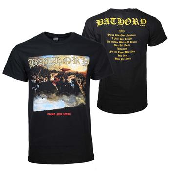 Buy Bathory Blood Fire Death T-Shirt by Bathory