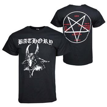 Buy Bathory Goat Logo T-Shirt by BATHORY