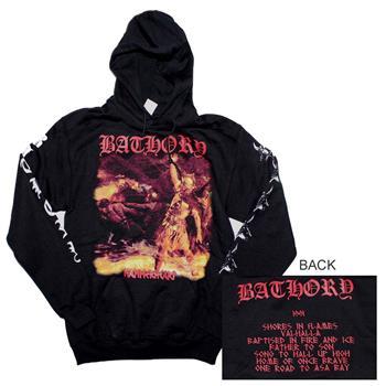 Buy Bathory Hammerheart Hoodie Sweatshirt by BATHORY