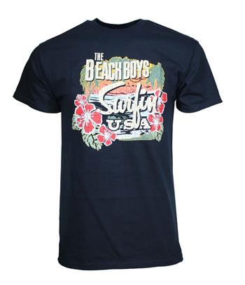 Beach Boys Beach Boys Surfing USA Tropical T-Shirt