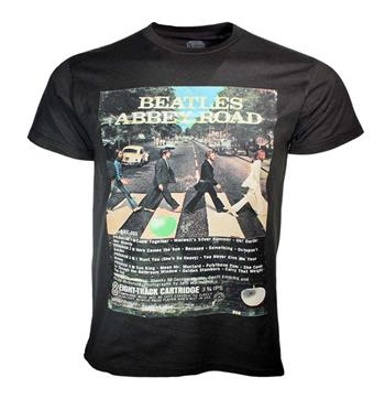 Beatles Beatles 8-Track Abbey Road 50th Anniversary T-Shirt