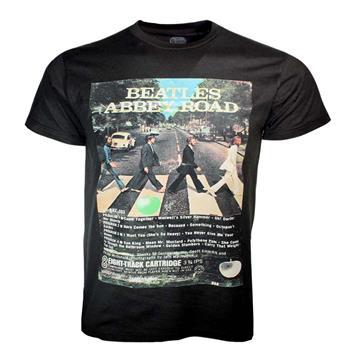 Beatles Beatles 8-Track Abbey Road 50th Anniversary T-Shirt