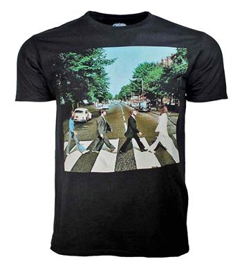 Beatles Beatles Abbey Road Black T-Shirt
