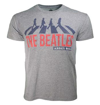 Buy Beatles Abbey Road Heather T-Shirt by Beatles