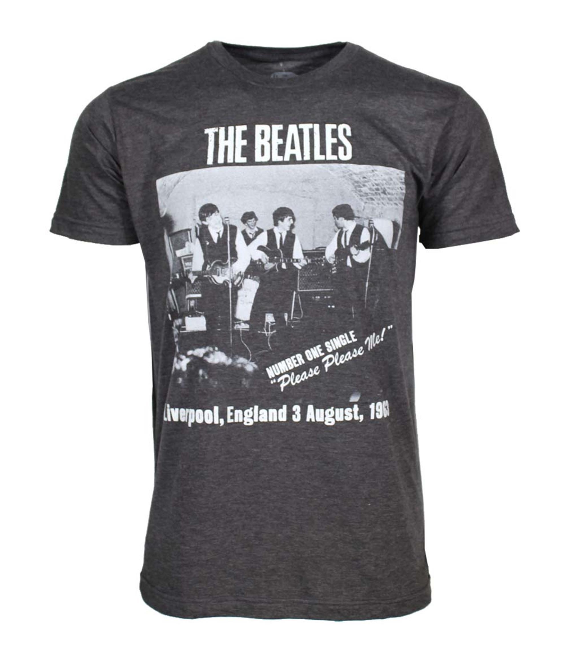 Beatles Cavern Club Heather Charcoal Soft T-Shirt