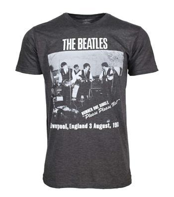 Beatles Beatles Cavern Club Heather Charcoal Soft T-Shirt