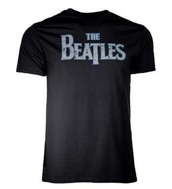 Beatles Beatles Distressed Vintage Logo T-Shirt