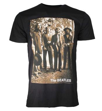 Beatles Beatles Sepia 1969 T-Shirt