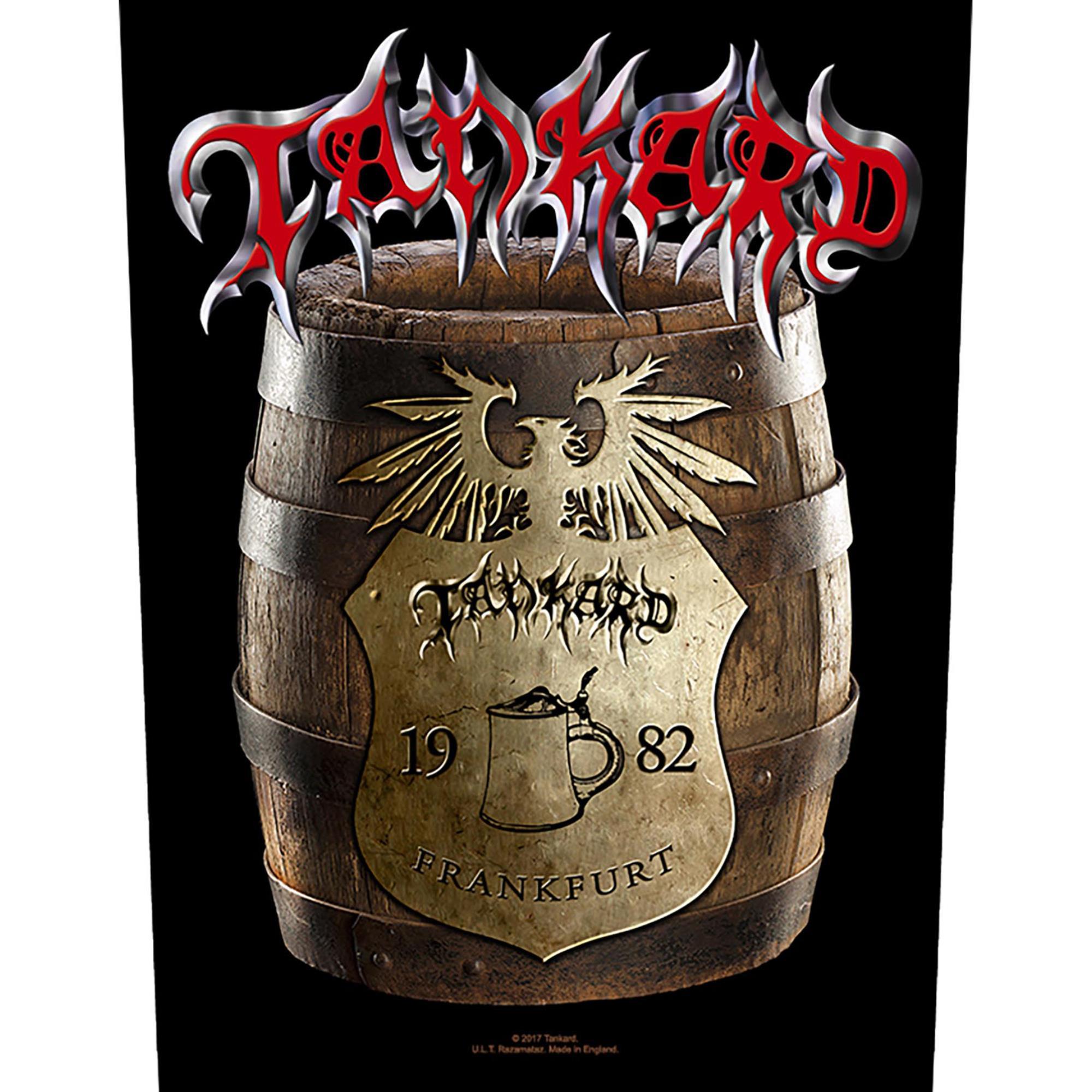 Beer Barrel Backpatch