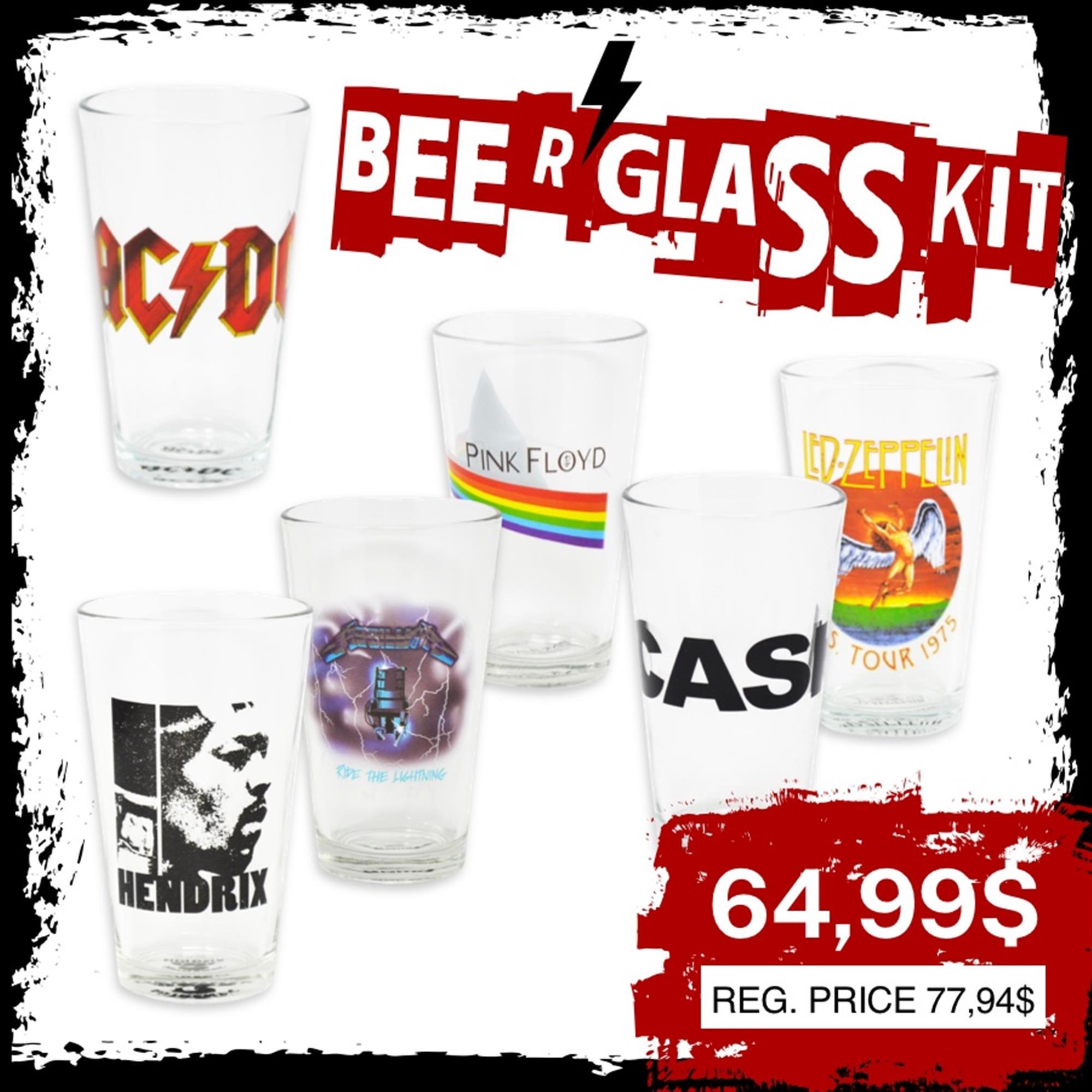 BEER GLASS KIT 1