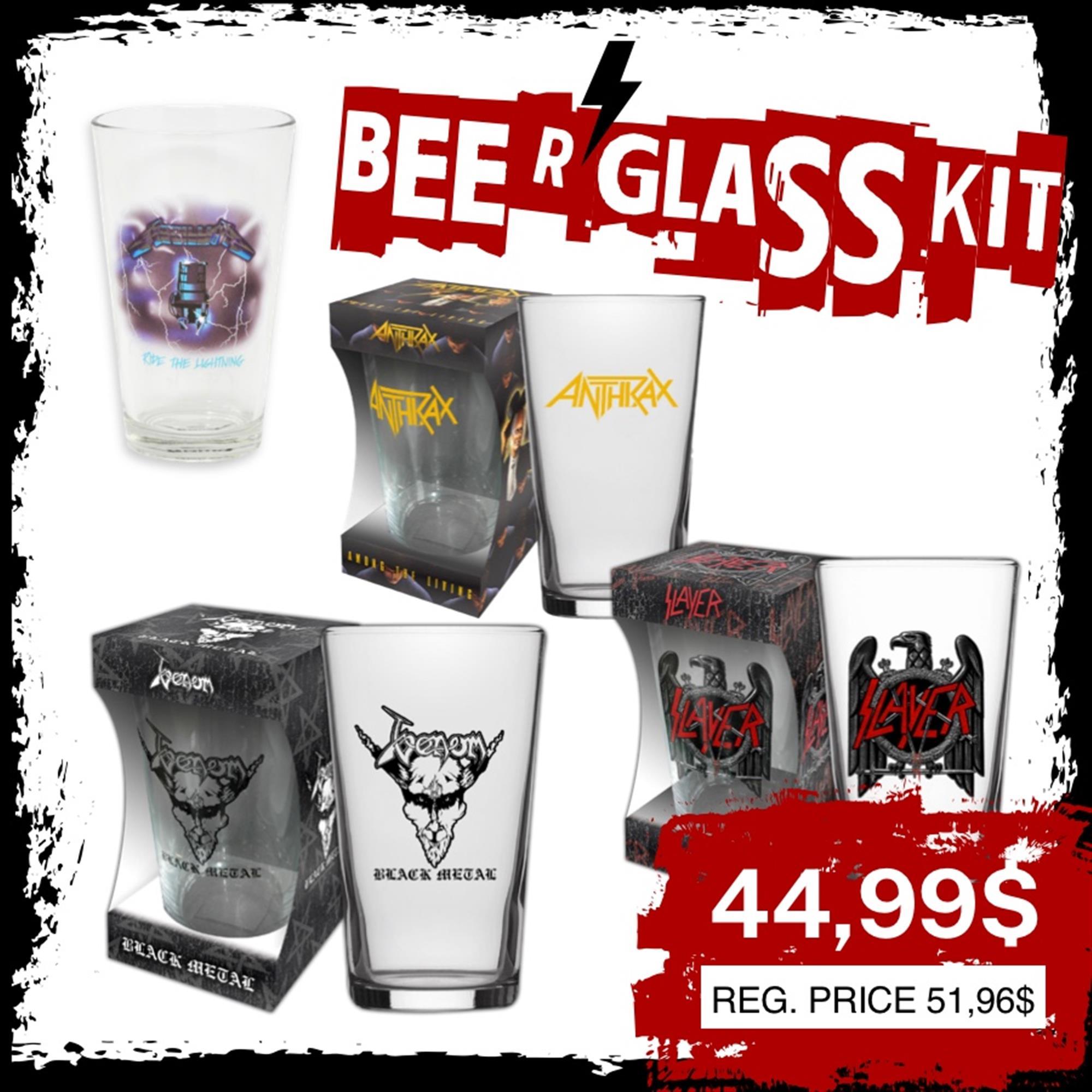 BEER GLASS KIT 2