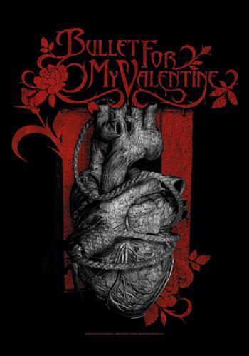 Bullet For My Valentine Heart Noose Flag