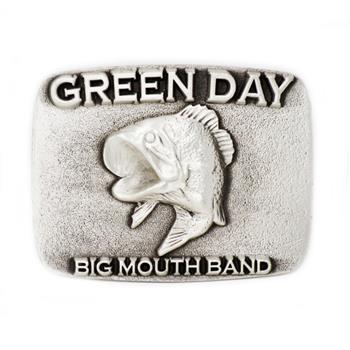 Green Day Big Mouth Band Buckle