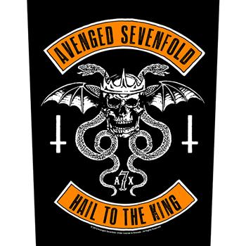 Avenged Sevenfold Biker Backpatch