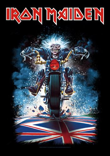 Iron Maiden Biker Eddie