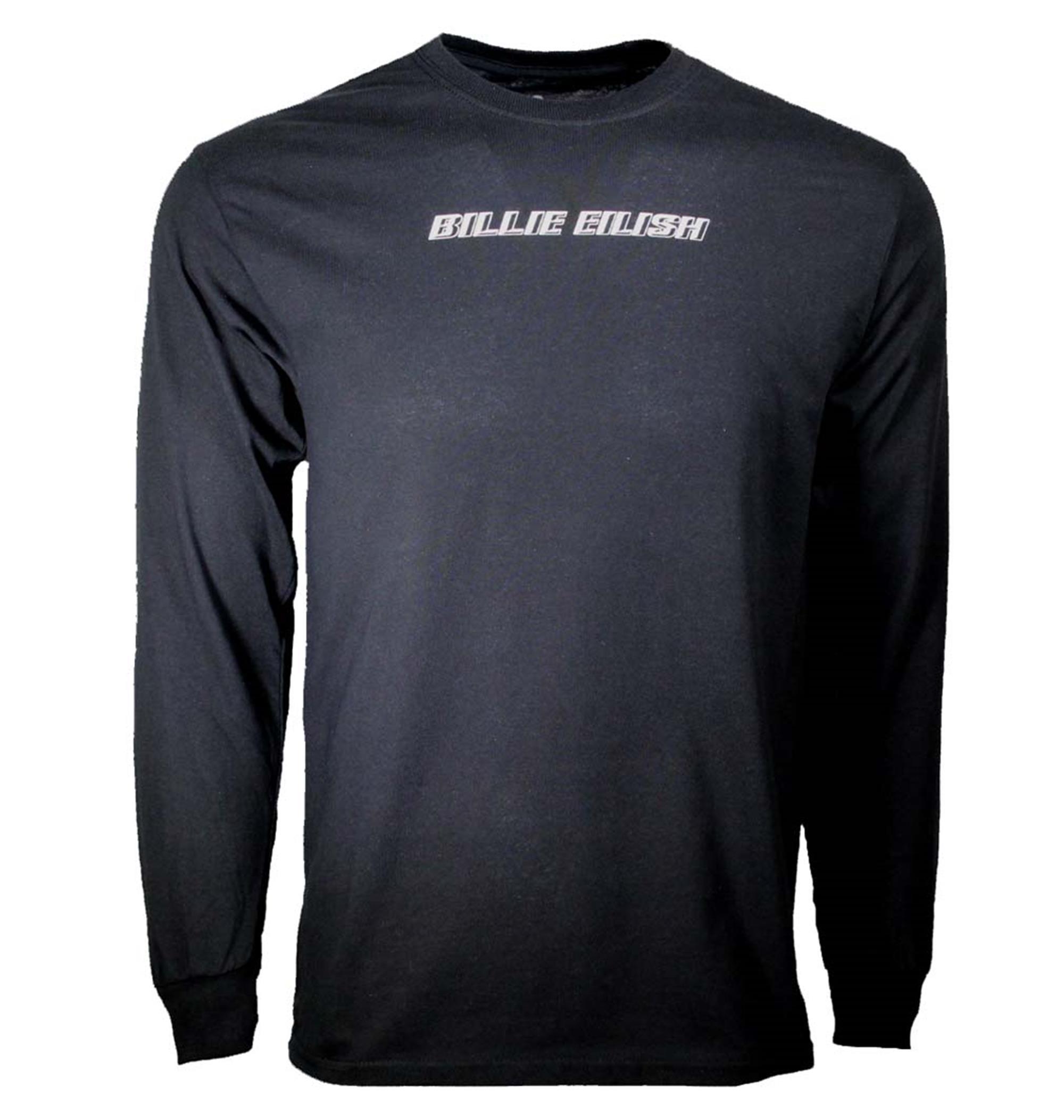 Billie Eilish Black Standard Long Sleeve T-Shirt