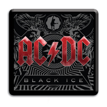 AC/DC Black Ice Buckle